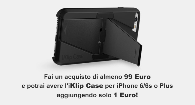 iKlip Case per iPhone 6/6S o iPhone Plus ad 1 €