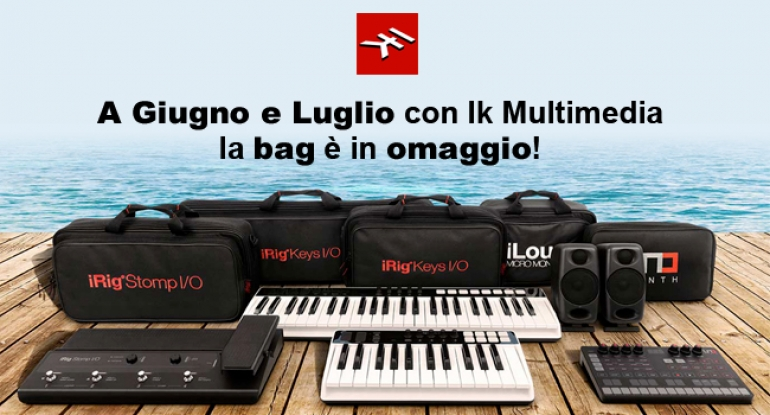 Ik Multimedia - Studio to Go - La Travel Bag è Gratis!