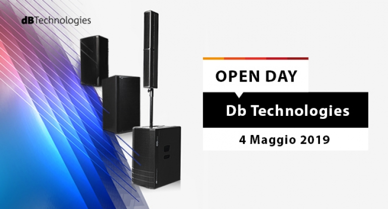 Open Day - dB Technologies - 4 maggio 2019