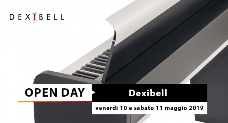 Open Day - Dexibell Vivo Digital Piano - 10 e 11 maggio 2019