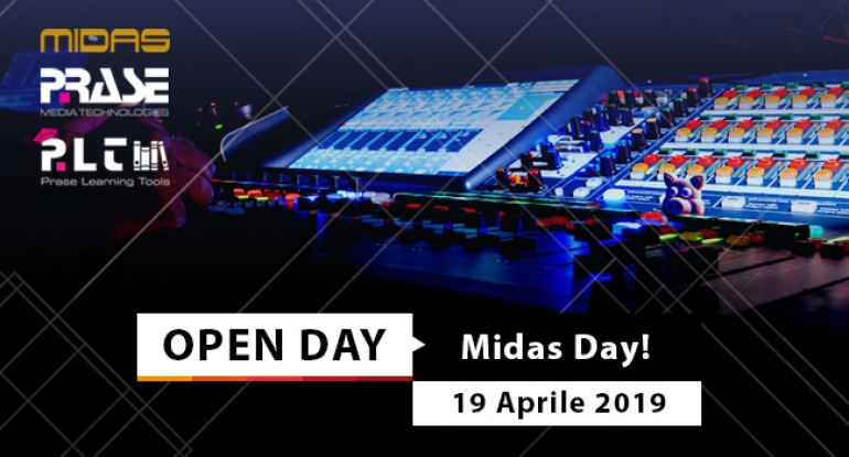 Open Day - Midas Day - 19 aprile 2019